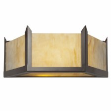 Hudson Wall Light Large Antiqued