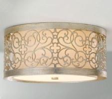 Feiss Arabesque Flush Ceiling Light
