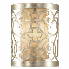 Feiss Arabesque Flush Wall Light