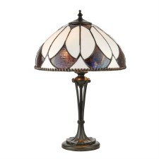 Interiors 1900 Aragon Tiffany Small Table Light 74334