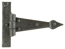 From The Anvil Arrow Head T Hinges Beeswax 4""