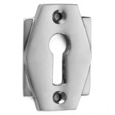 Croft Art Deco Escutcheon 7008 Polished Chrome