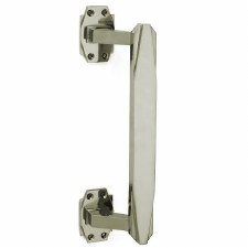 Croft 7009 300mm Art Deco Pull Handle Polished Nickel