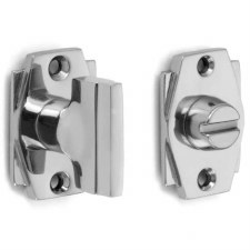 Croft 7007 Art Deco Thumb Turn & Release Polished Chrome