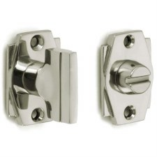 Croft 7007 Art Deco Thumb Turn & Release Polished Nickel