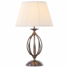 Elstead Artisan Table Lamp Aged Brass