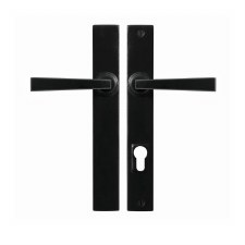 Stonebridge Arundel Multipoint Patio Door Handles Armor Coat Flat Black