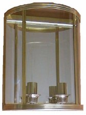 Ascain Wall Light Antique Brass