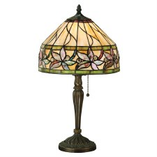 Interiors 1900 Ashtead Small Tiffany Table Lamp