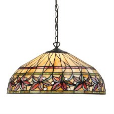 Interiors 1900 Ashtead Tiffany Ceiling Pendant