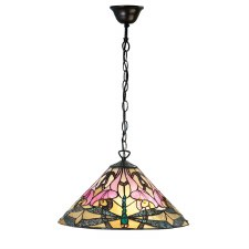 Interiors 1900 Ashton Tiffany Ceiling Light Pendant