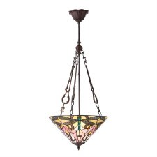 Interiors 1900 Ashton Tiffany Medium Inverted Pendant 70740
