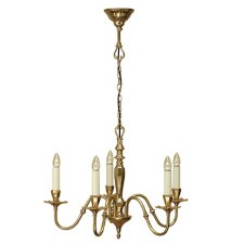 Interiors 1900 Asquith 5 Light Chandelier