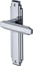 Heritage Astoria Latch Door Handles AST5910 Polished Chrome