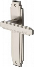 Heritage Astoria Latch Door Handles AST5910 Satin Nickel