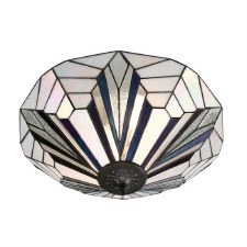 Interiors 1900 Astoria Tiffany Ceiling Light