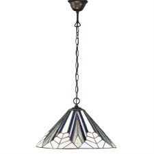 Interiors 1900 Astoria Tiffany Medium Ceiling Pendant Light