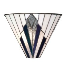 Interiors 1900 Astoria Tiffany Wall Light