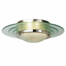 Astral Flush Ceiling Light Chrome