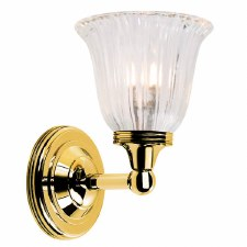 Elstead Ausden 1 Bathroom Wall Light Polished Brass
