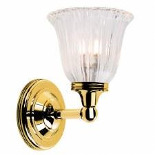 Elstead Ausden 1 Bathroom Wall Light Polished Brass