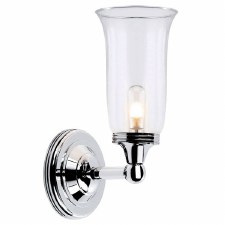 Elstead Ausden 2 Bathroom Light Polished Chrome