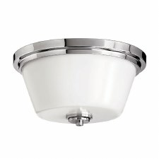 Hinkley Avon Bathroom Flush Light Polished Chrome