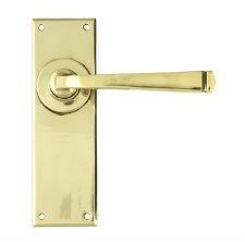From The Anvil Avon Lever Latch Door Handle Set Aged Brass
