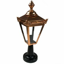 Avon Pedestal Light Copper & Black
