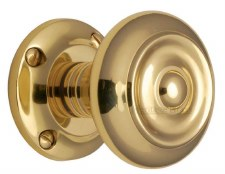 Heritage Aylesbury Mortice Knobs V872 Polished Brass
