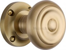 Heritage Aylesbury Mortice Knobs V872 Satin Brass