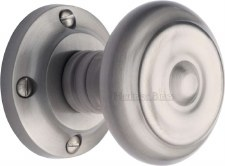 Heritage Aylesbury Mortice Knobs V872 Satin Chrome
