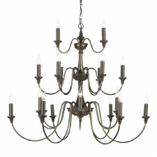 David Hunt BAI2163 Bailey 21 Light Chandelier Rich Bronze