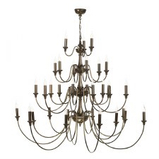David Hunt BAI3363 Bailey 33 Light Chandelier Rich Bronze