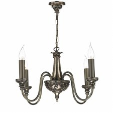 David Hunt BAI0463 Bailey 4 Arm Ceiling Pendant Light Rich Bronze