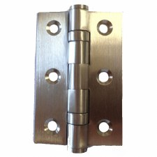 "Ball Bearing Butt Hinges 3"" x 2"" Satin Stainless Steel"