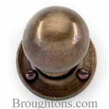 Bronze Ball Rim Knobs