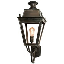 Balmoral Wall Lantern Antique Brass