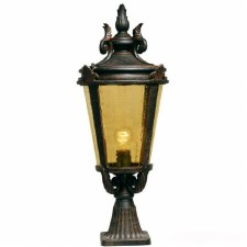Elstead Baltimore Pedestal Lantern Light Large