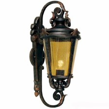 Elstead Baltimore Outside Wall Light Lantern Large