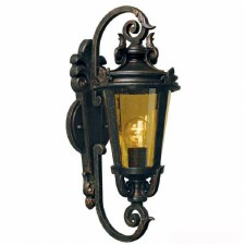 Elstead Baltimore Outside Wall Light Lantern Medium