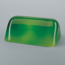 Berliner Bankers Lamp 99 Glass - Green