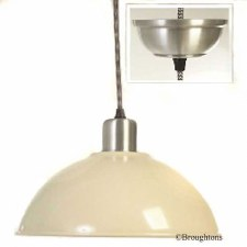 Basin Ceiling Pendant Lamp Cream