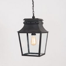 Bath Hanging Lantern Small Black