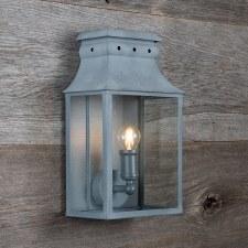 Bath Wall Lantern Samll Zinc