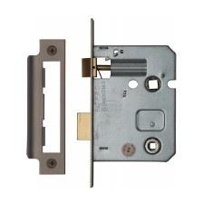 "Heritage Bathroom Lock YKBL3 Matt Bronze 3"""