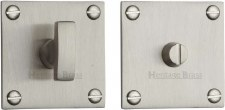 Heritage BAU1555 Bathroom Thumb Turn & Release Satin Nickel