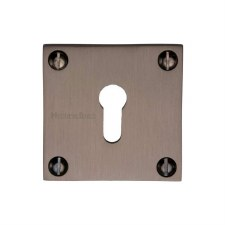Heritage BAU1556 Square Escutcheon Matt Bronze Lacquered