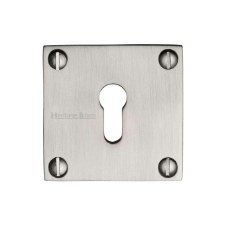 Heritage BAU1556 Square Escutcheon Satin Nickel