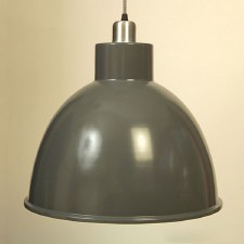 Bay Ceiling Pendant Light Shingle Grey